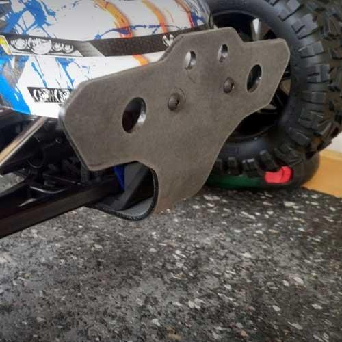 POS RACING Parts Bumper E-Revo 2 Front - POSTRX004