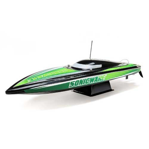 "Proboat 36"" Sonicwake,Blk, Self-Right Deep-V Brushless RTR"
