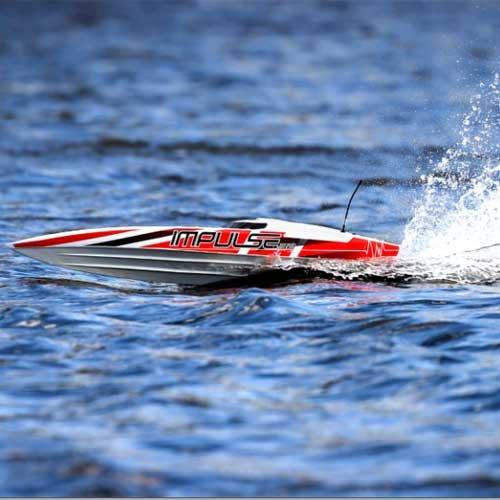 Pro Boat Impulse 32-inch Wht/Red RTR