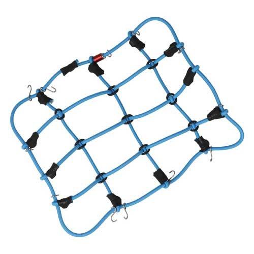 Scaler Gepäcknetz mit Haken Blau R21001BL