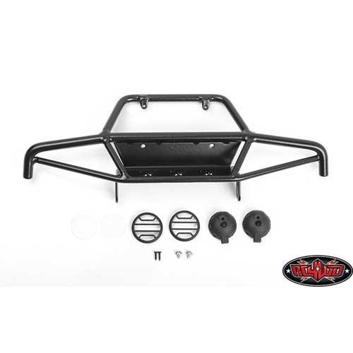 Tri-X Steel Stinger Front Bumper w/ Lights Vanquish VS4-10