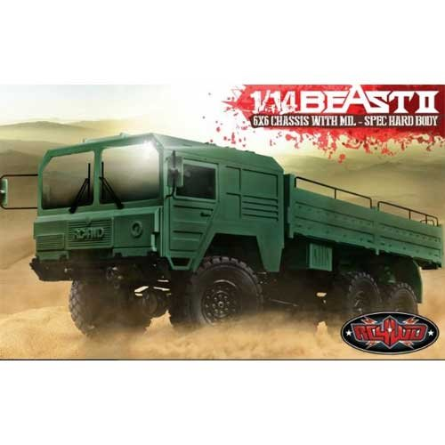 RC4WD Beast II 6x6 Truck Kit RC4ZK0052