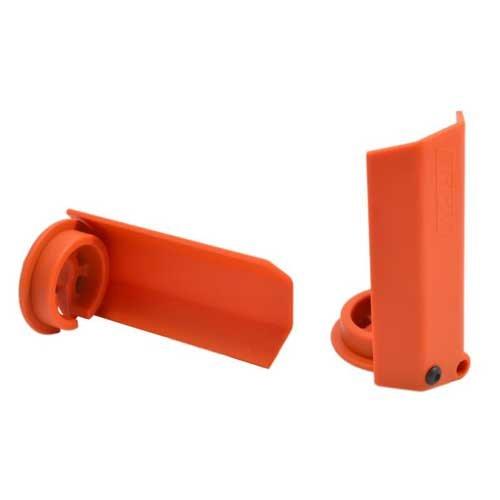 RPM Dämpferstangen-Schützer(2) orange TRX XMAXX
