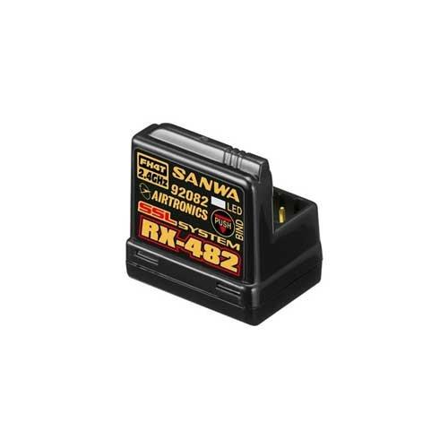 SANWA RX-482 Telemetrie / SSL Empfänger