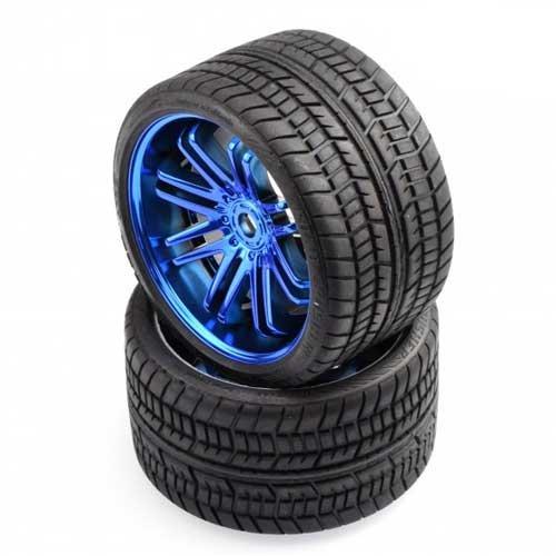 Sweep Road Crusher Onroad Gürtel Reifen Blue 1/4 offset