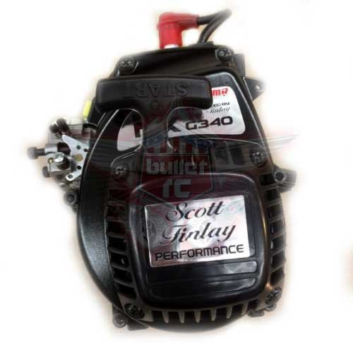 Scott Finlay Pro MX G340 34cc RC Motor Ported
