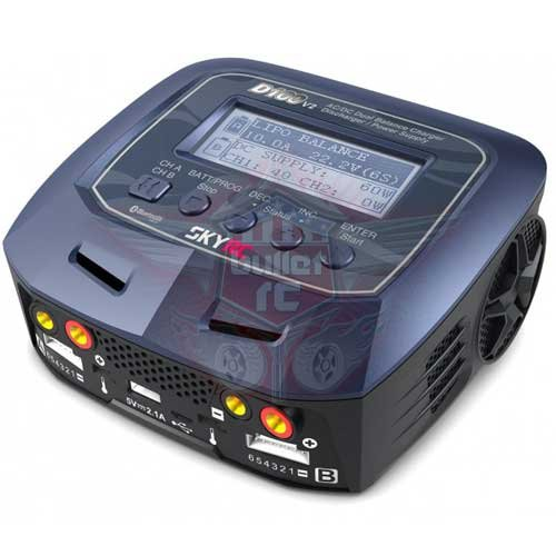 Ladegerät D100 AC/DC DUO LiPo 1-6s 10A 2x100W