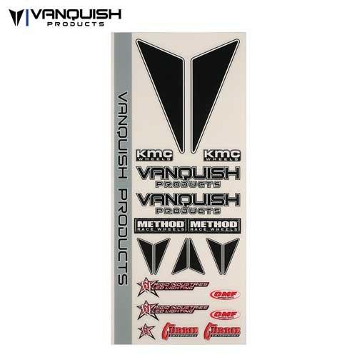Vanquish Products 2015 Logo Sticker Bogen