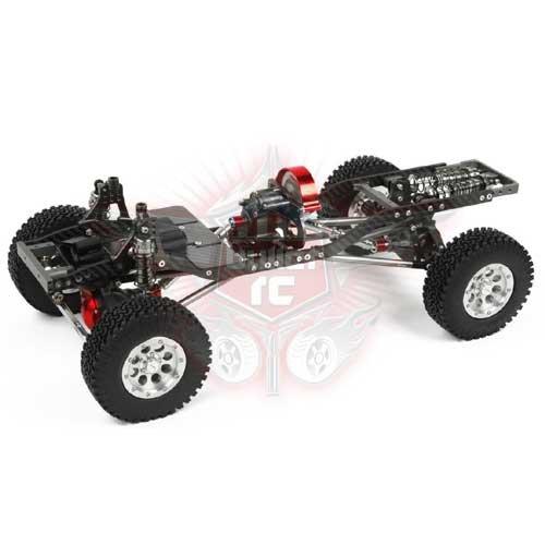 TFL T-10 Pro Crawler Chassis Mittelmotor Radstand 313mm