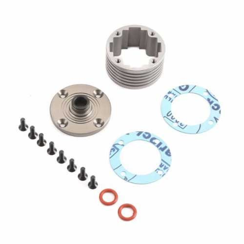 TLR252010 TLR Aluminium Differential Gehäuse Set 5ive-B, 5ive-T