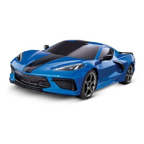 TRAXXAS Corvette C8 4Tec 3.0 Blau