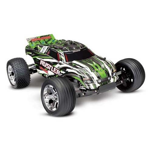 TRAXXAS Rustler RTR 1/10 2WD Monster grün