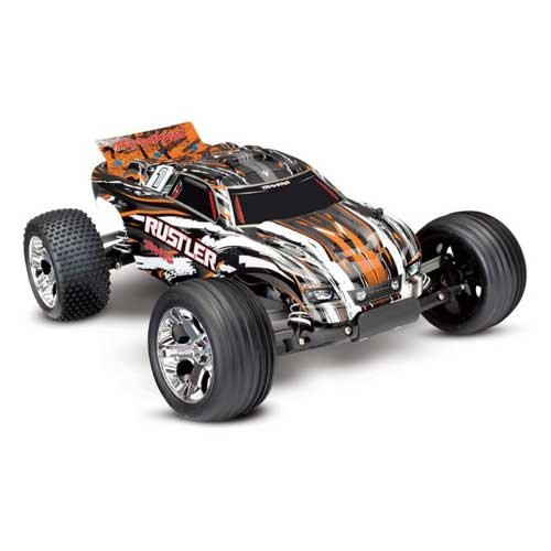 TRAXXAS Rustler RTR 1/10 2WD Monster Orange