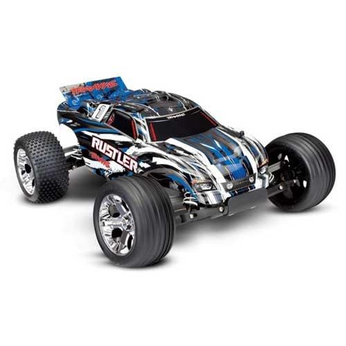 TRAXXAS Rustler RTR 1/10 2WD Monster Blau-X