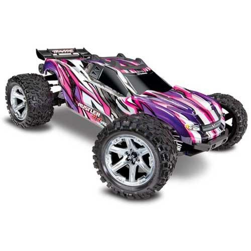 TRAXXAS Rustler 4x4 VXL Pink