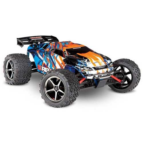 TRAXXAS E-Revo 4x4 orange RTR - TRX71054