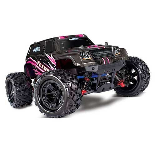 LATRAX Teton 4x4 1/18 4WD Monster Truck - Pink