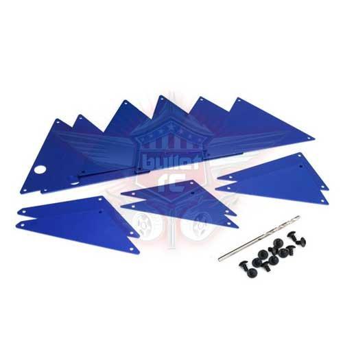 Traxxas Rohrrahmen-Chassis Panle-Set blau UDR TRX8434X