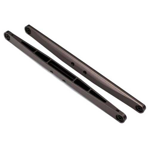 Trailing-Arm Alu Dunkel-Titanium eloxiert (2) TRAXXAS