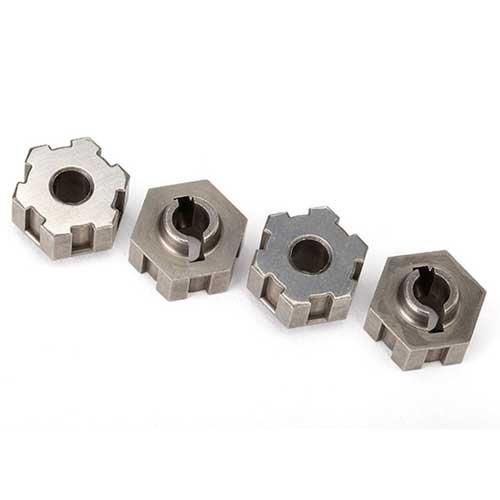 Radmitnehmer, Sechskant, Stahl (4) TRAXXAS