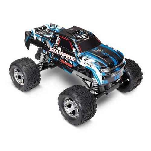 TRAXXAS Stampede blau RTR 1/10 2WD Monster Truck