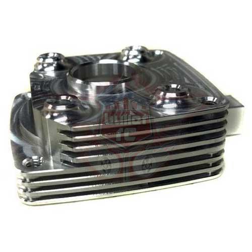 Turtle Racing v2 Aluminium Kupplungsgehäuse silber