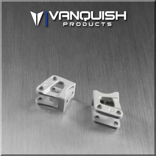 Vanquish Axial AR60 Axle Shock Link Mounts Clear Anodized