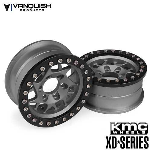 Vanquish KMC 1.9 XD127 Bully Grey Anodized