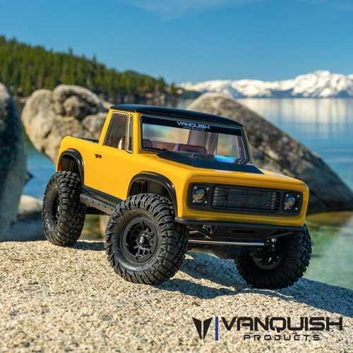Vanquish Origin Halfcab Body Set - Clear