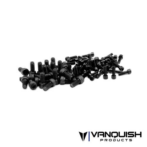 Vanquish Black Scale Wheel Screw Kit