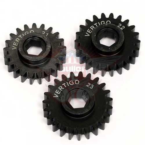 Vertigo 9mm Ritzel DBXL/RCMK/Baja Hex Drive Glocke 19T