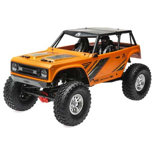 Axial 1/10 Wraith 1.9 4WD Brushed RTR, Orange