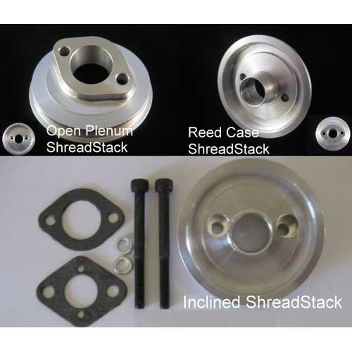 Shread Industries gewinkelter Open Plenum Anschluss Baja 5