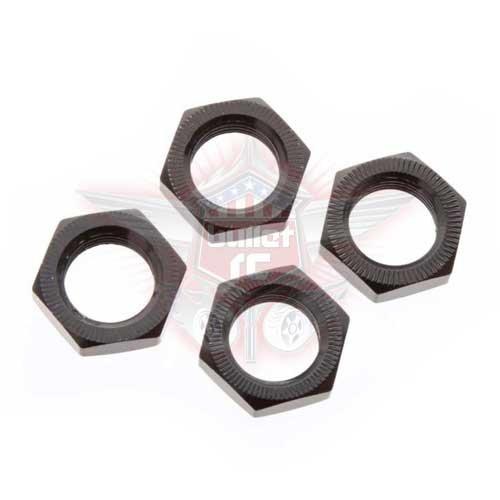 Arrma Wheel Nut Aluminum 17mm Black (4) (ARAC9763)