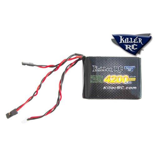 Killer RC 7.4v 4200mAh RX LiPo Akku für HPI Baja