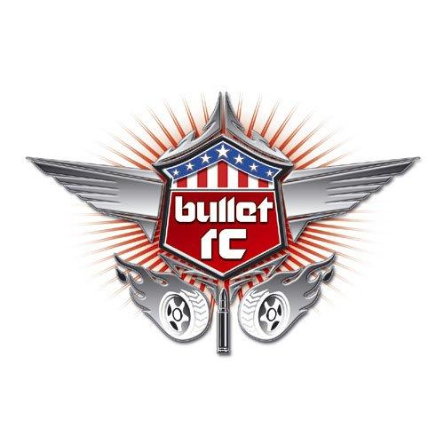 Bullet RC Logo Aufkleber 1 Stk. 11 x 7,5 mm