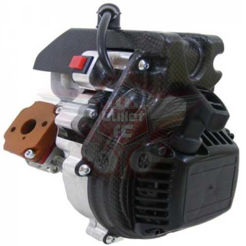BZM Micro 28,5cc Luftgekühlter Motor - OFF-ROAD