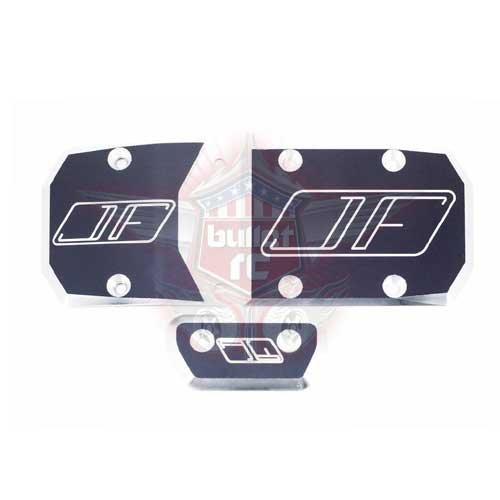 Jofer-RC Skid Plate für DBXL-E - gunmetal