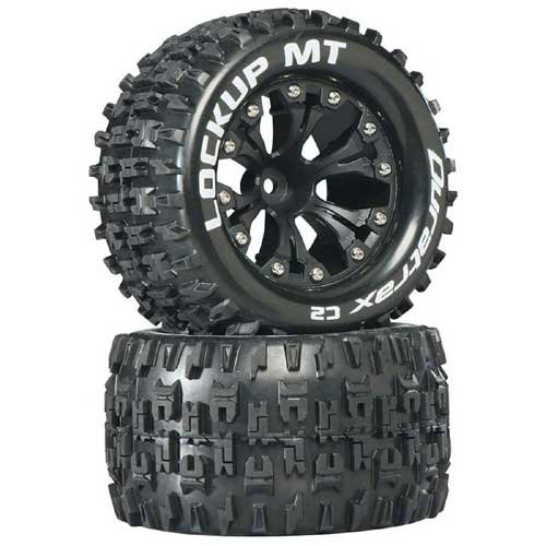 "Duratrax Lockup MT 2.8"" 2WD Mounted DTXC3508"