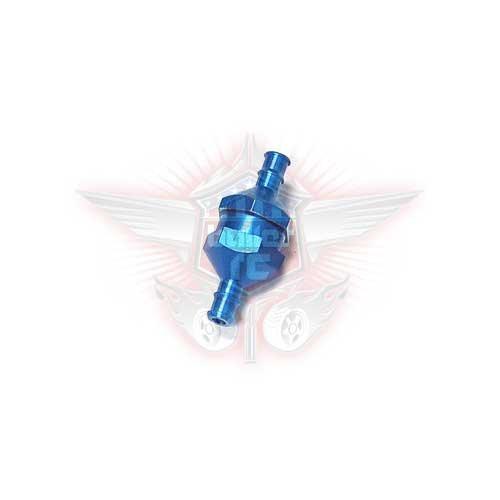 DDM Aluminium Benzinfilter blau