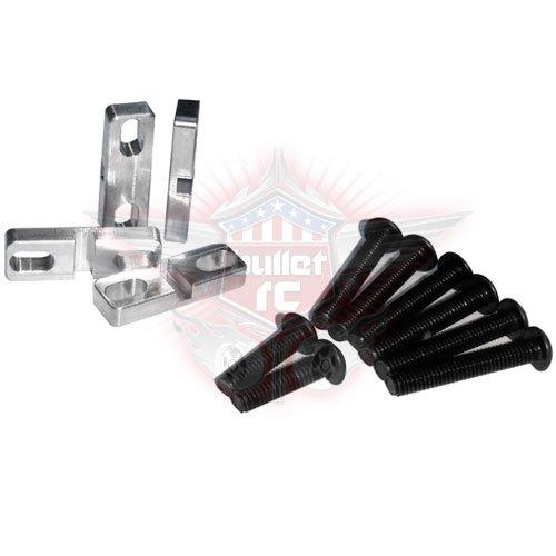 FullForce RC Losi DBXL Aluminum Servo Klammern (4)