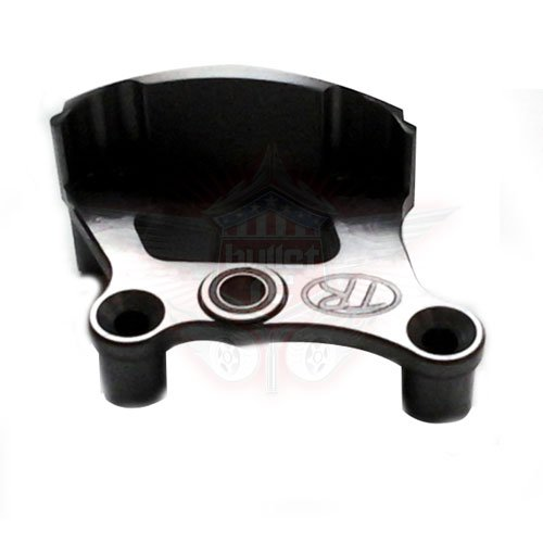 Turtle Racing One Piece Brake Mount - gunmetal