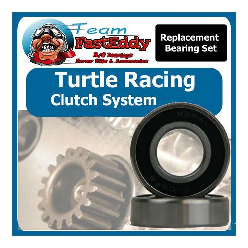 Team FastEddy Kupplungs Lager Set für Turtle Racing Kupplungen