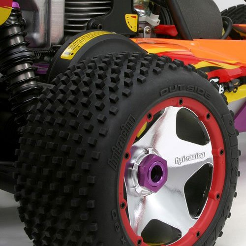 HPI Baja 5b Super Star Felgen Set hinten chrom