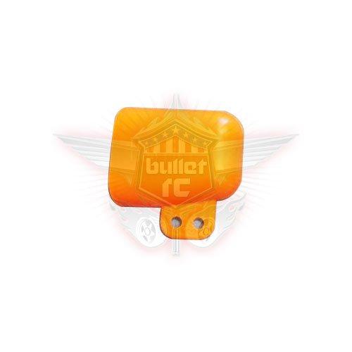 Hostile Hitze Ableitung/Scoop für R/C Motoren orange