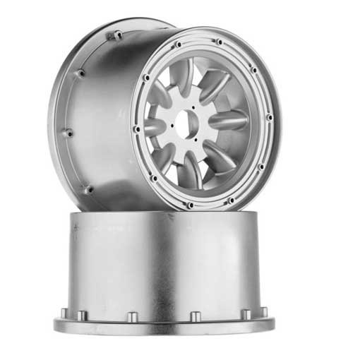 HPI Racing ML-8 Wheel Silver 120x75mm (2) Baja 5R