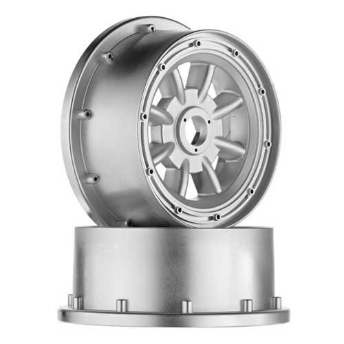HPI Racing ML-8 Wheel Silver 120x60mm (2) Baja 5R