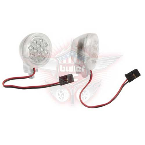 HPI LED LIGHT POD/COVER SET (CLEAR) 87588