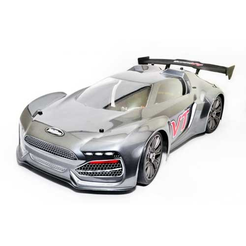 Hobao Hyper VTE On-Road Brushless 1/8 100A 4s RTR Grau