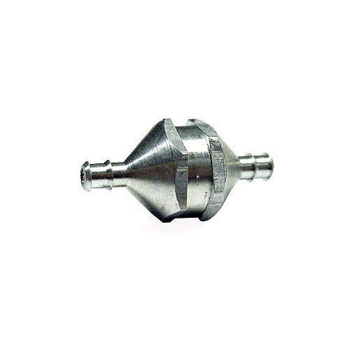 DDM Aluminium Benzinfilter silber